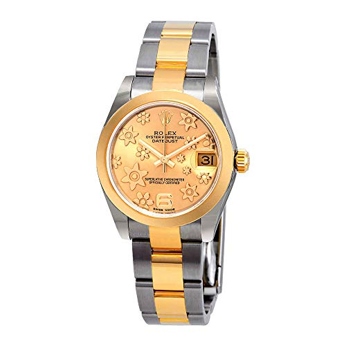 Rolex Datejust Lady 31 Champagne Dial Stainless Steel and 18K Yellow Gold Oyster Bracelet Automatic Watch -