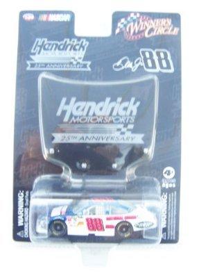 Dale Earnhardt Jr #88 National Guard Blue Die-cast Car 1/64 Scale Winner's Circle With Hendrick Motorsports Mini Hood Magnet (National Guard Diecast)