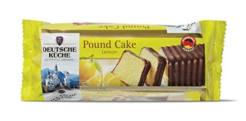 Deutsche Kuche Chocolate Covered Pound Cake (Lemon) (Best Marble Pound Cake)