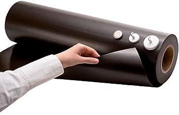 Meterware Magnetfolie weiß glänzend 0,8mm x 0,62m x 1m