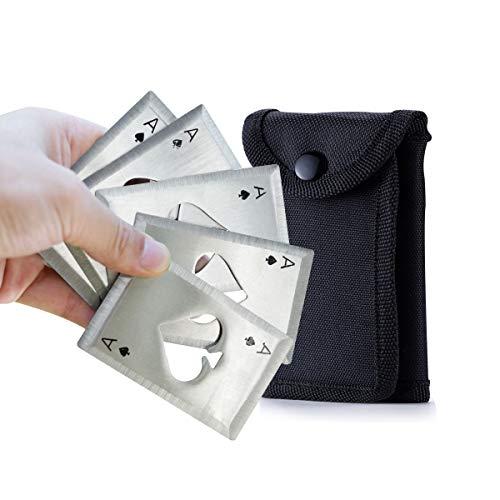 5 pcs/set steel poker outdoor hidden weapons dart knife martial arts darts ladies self-defense (Silver)