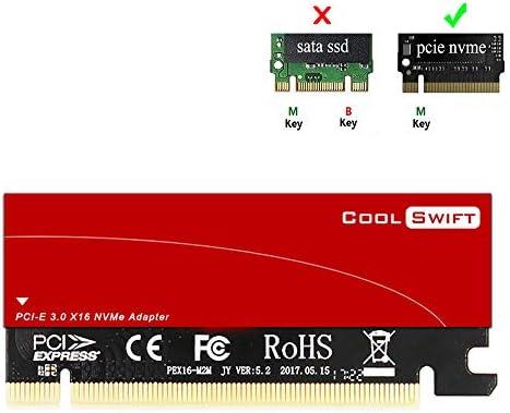 Amazon.com: NVME - Adaptador M.2 a PCIe, tarjeta PCI Express ...