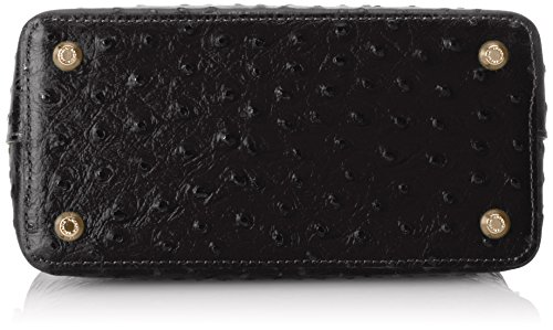 Arcadia 6108, Borsa a mano Donna, Nero, 21 cm