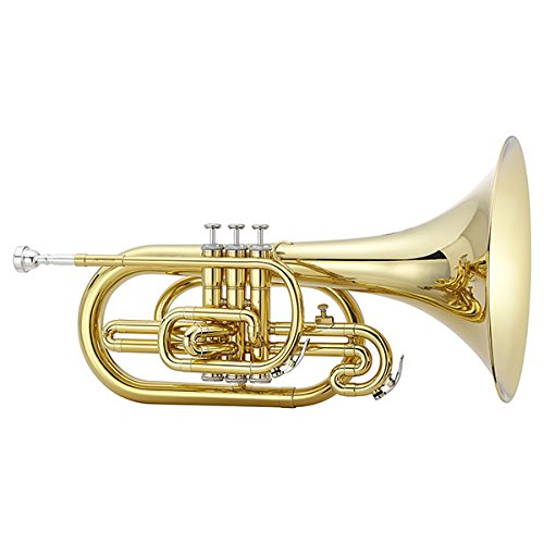 Jupiter 450 Series Marching F Mellophone 450L Lacquer by Jupiter
