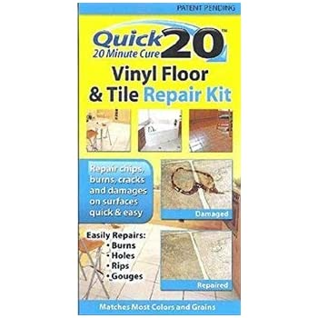 Quick 20 Vinyl Floor And Tile Repair Kit Repairs Chips