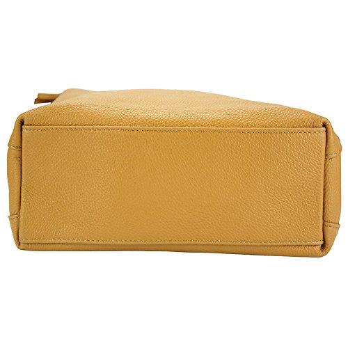 Florence De Mélie 9122 Leather Souple Vachette Hobo Market Clair Le Marron En Sac Cuir rXrzZqx4w