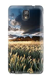 Yen Nguyen's Shop New Style Premium Protection Wheat Case Cover For Galaxy Note 3- Retail Packaging