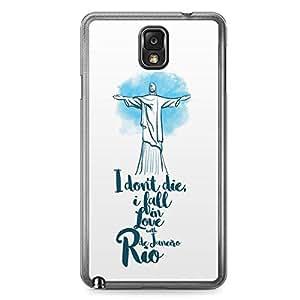 Rio Samsung Note 3 Transparent Edge Case - Destinations of the World