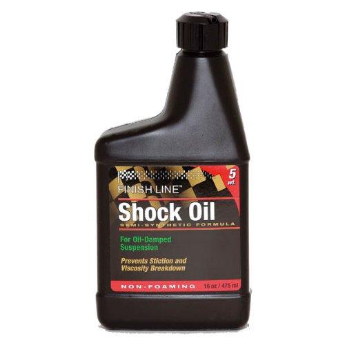 (Finish Line 5wt Suspension Shock Oil 16oz Botle)