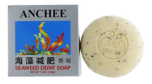 Anchee Seaweed Defat Soap, 5.3 Ounces Pack of 10