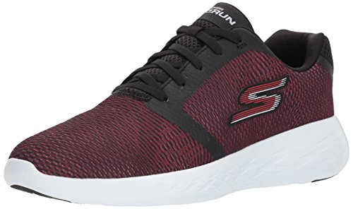 Skechers Performance Men's Go Run 600-55068 Sneaker,Black/Red,7 M US
