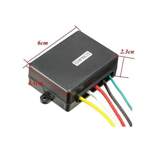 Dump Truck Control Switch : Jahyshow wireless winch remote control switch lift gate