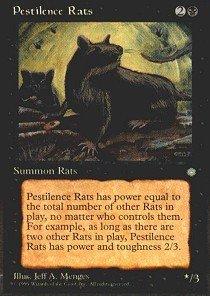 Magic: the Gathering - Pestilence Rats - Ice Age ()