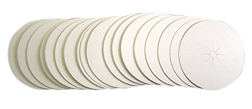 Paper Bobeche Drip Protector for Vigil Candles (50 Pack) Trinity Church Supply