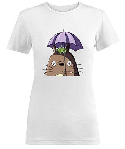 Totoro My Neighbor Character With Umbrella Damen T-shirt