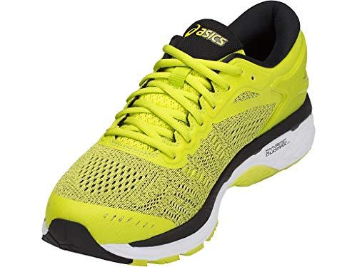 ASICS Men's Gel-Kayano 24 Running Shoes, 6M, Sulphur/Black/White by ASICS (Image #1)