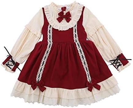 Woodtree Niñas Lolita Falda niña loli Ropa Original de los niños ...