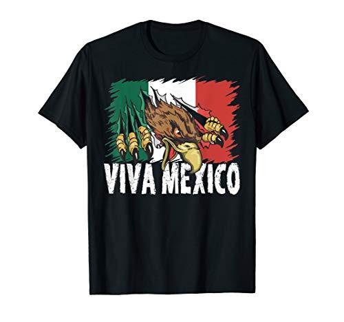 Independencia De Mexico 2019 T-Shirt Viva Mexico For Mexican]()
