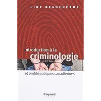 INTROA LA CRIMINOLOGIE