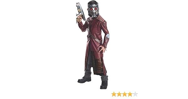 Star-Lord - Guardianes de la Galaxia - Childrens Disfraz - Pequeño - 117cm: Amazon.es: Juguetes y juegos