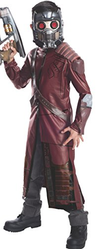 Star Costumes For Children (Rubie's Guardians of The Galaxy Deluxe Star-Lord Costume, Child Small)