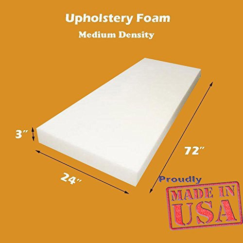 Mybecca Upholstery Foam Cushion (Seat Replacement , Upholstery Sheet , Foam Padding), 3