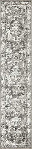 Unique Loom Sofia Collection Traditional Vintage Gray Runner Rug (2' x 10') from Unique Loom