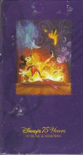 Walt Disney Records Disney's 75 Years of Music & Memories...