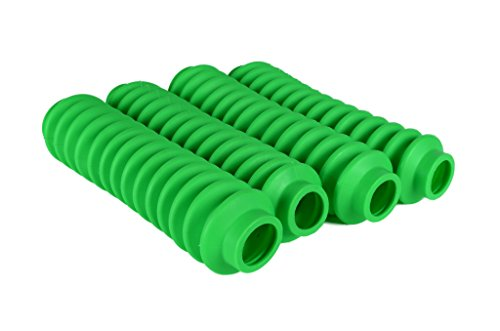 4 Pack Fluorescent or Lime Green Rukse RK9100 Poly-vinyl Shock Boots for Jeep Grand Cherokee WJ - Grabber Boot