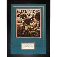 "$198 » Larry Csonka Autographed Miami Dolphins ""Signature Series"" Frame – JSA - NFL Cut Signatures"
