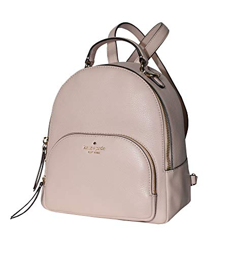 (Kate Spade Jackson Medium Leather Backpack Warm Vellum)