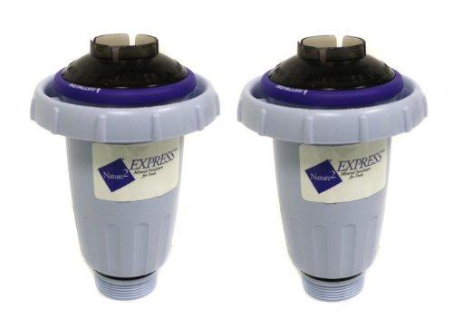 2 NATURE2 W28175 Express Above/InGround Vessel Pool Mineral Sanitizer Cartridges