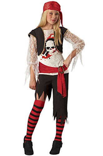 High Seas Pirate Costumes (Child High Seas Sassy Pirate Costume)