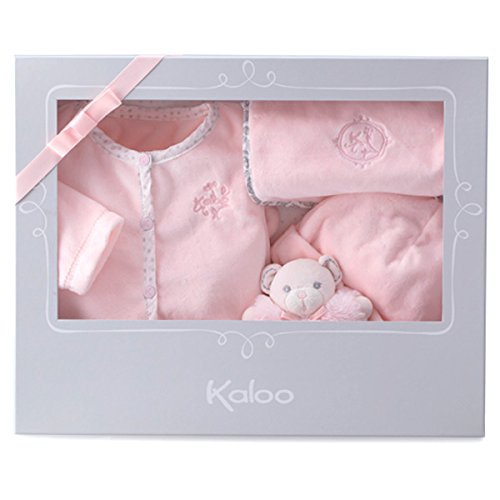 Kaloo Large Perle Gift Set 4 Pieces, Pink