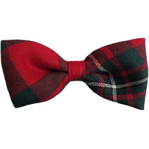 Mens Mens MacGregor Tartan Pre-Tied Bow Tie