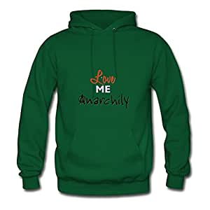 Anarchily Green Designed Style Personality Women X-large
