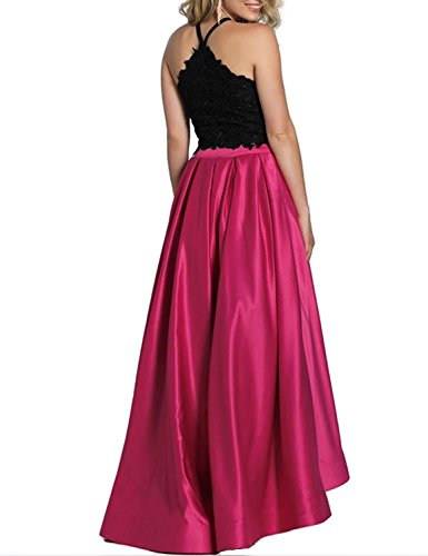 Ball BP152 Prom Dresses 2 2018 Lace Women's Green BessWedding Piece Prom Formal Long Satin Gowns UPXOqw