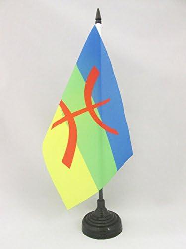 AZ FLAG Bandera de Mesa de CABILIA 21x14cm - BANDERINA de DESPACHO ...