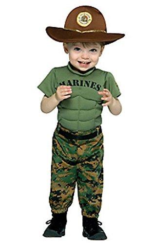 Marine Corps Marine Uniform Infant Toddler Costume 12-24 (Marine Corp Tattoo)