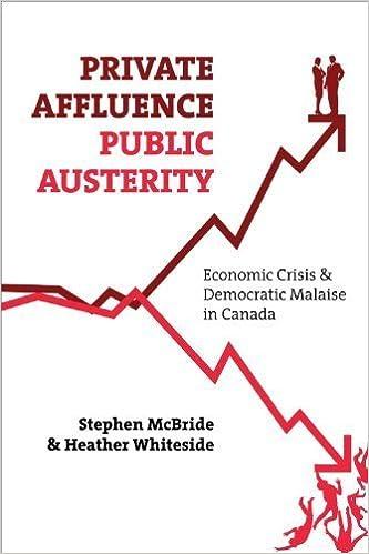 Private Affluence, Public Austerity: Economic Crisis &