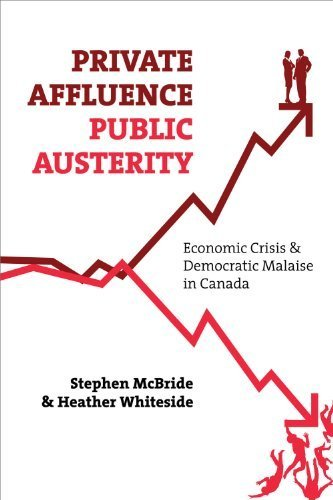 Private Affluence, Public Austerity: Economic Crisis & Democratic Malaise in Canada by McBride, Stephen, Whiteside, Heather(October 1, 2011) Paperback