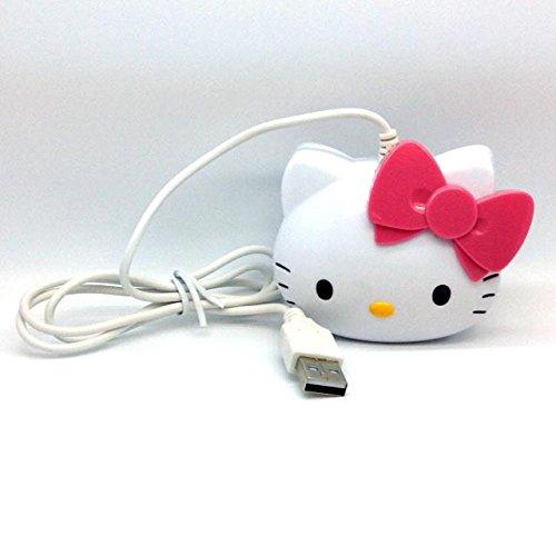 Hello Kitty USB HUB 4 Port (White)