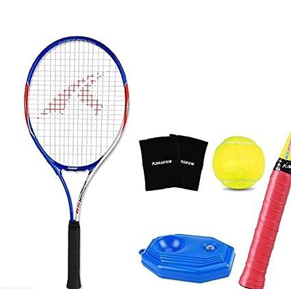 5d8cf450fb657 Amazon.com : TTYY Tennis Racket Set Beginner Game Amateurs ...