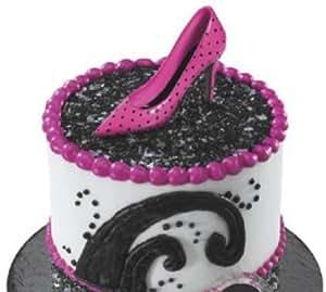 1 X 3 Plastic Fashion Stiletto High Heel Shoes Cake Cupcake Layon