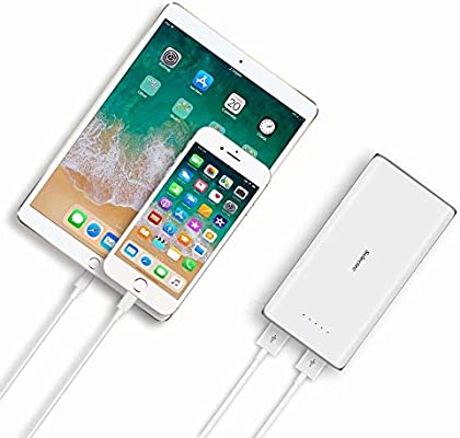 Sunydeal SELECTEC 24000mAh Power Bank Cargador Móvil Portátil Batería Externa con 2 Salidas USB 2.1A para iPhone iPad Samsung Dispositivos Android ...