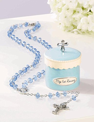 My 1st Rosary with Keepsake Box - Blue (Rosary Keepsake)