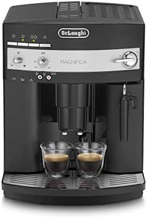 DeLonghi Magnifica ESAM3000B Maquina de Espresso, 1350 W, 1.8 Litros, Acero Inoxidable, Negro 36x38x29cm: Amazon.es: Hogar
