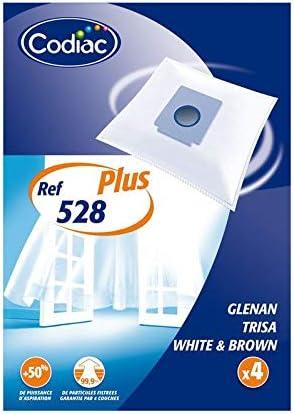 Codiac – 4 bolsas aspiradora microfibra – ref: 528 Plus: Amazon.es: Hogar