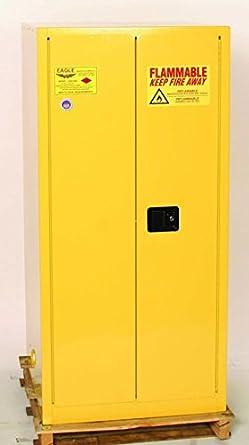 Eagle HAZ1926 Drum Storage Safety Cabinet for Flammable Liquids, 2 ...