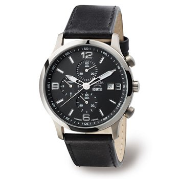Boccia Sport 3776-01 Gents Watch with Leather Strap